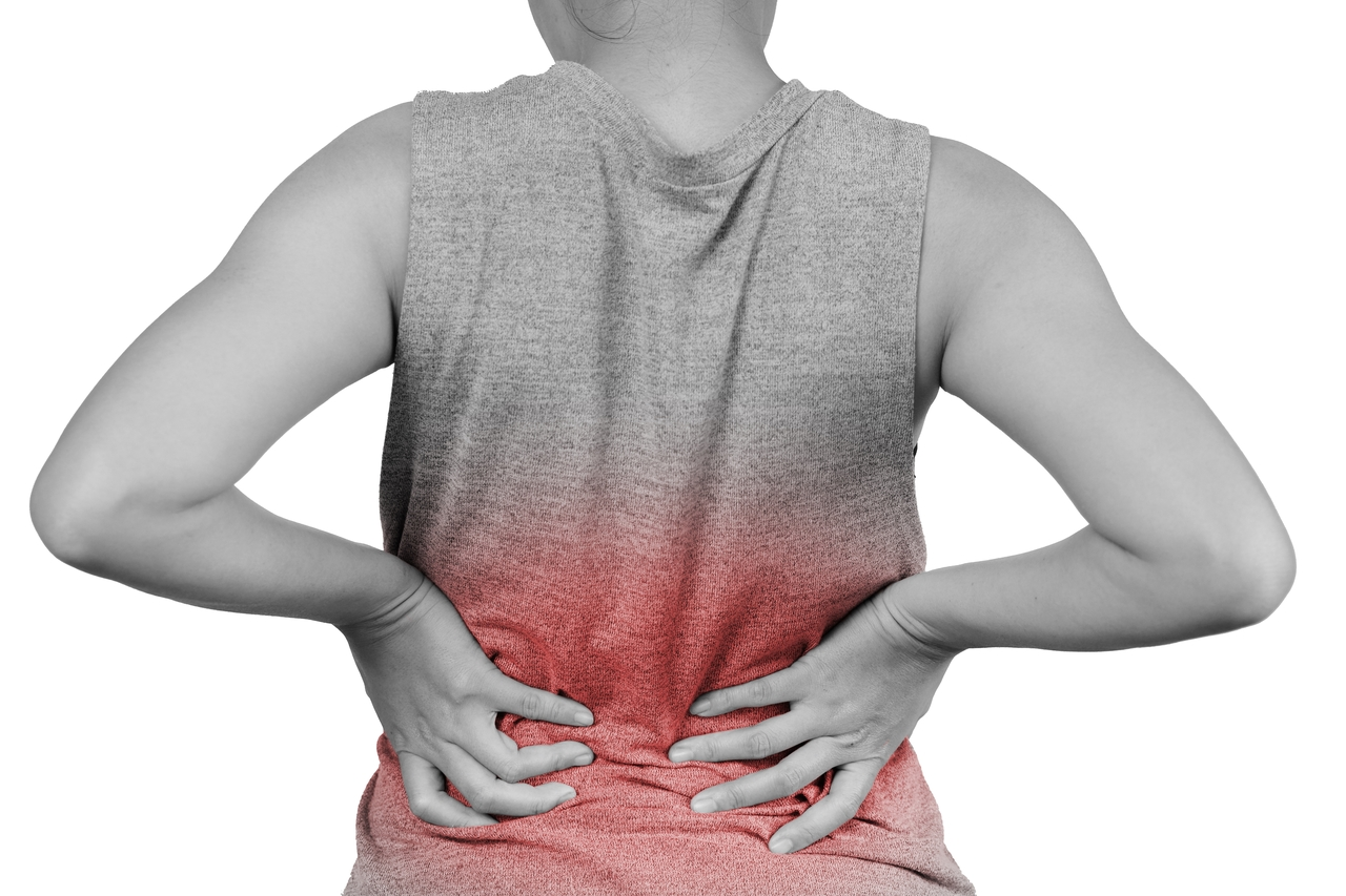 Inflammation of lower back