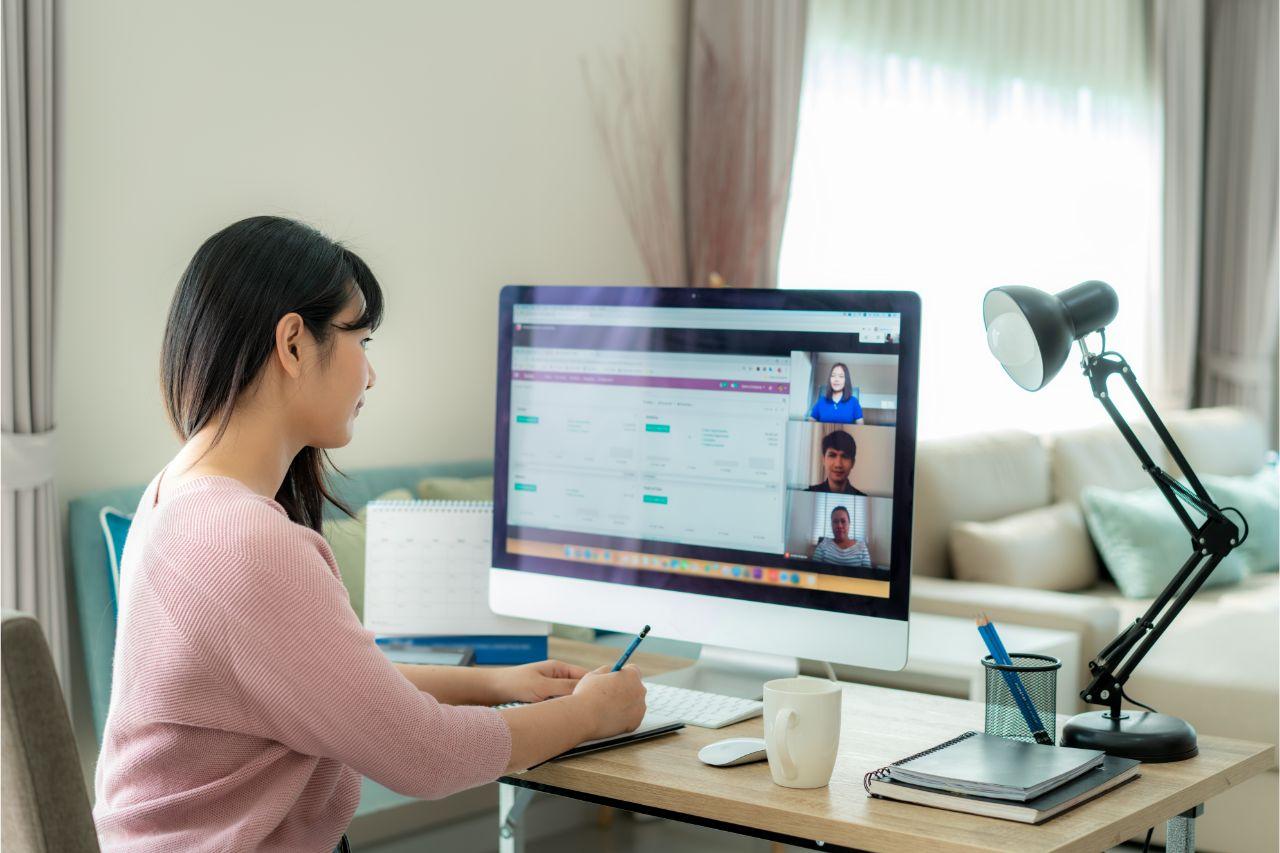 Have an ergonomic home office setup