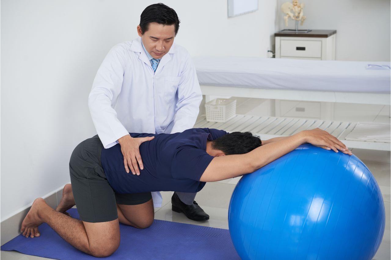 McKenzie exercises and stabilization activities